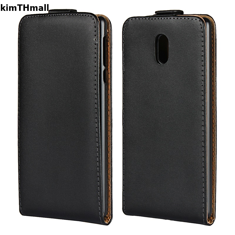<font><b>Case</b></font> For Microsoft Nokia <font><b>Lumia</b></font> 1520 730 535 532 950 <font><b>650</b></font> 640 funda <font><b>case</b></font> luxury Vertical Genuine Leather Hard <font><b>case</b></font> kimTHmall image