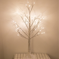 90 cm White Birch LED Luminescent Christmas Tree Lamp Decoration Bright Star Living Room Room Decoration