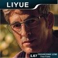 LIYUE индекс 1.67 Свободной Форме Прогрессивные линзы прозрачный Мультифокальные линзы бифокальные линзы без линии