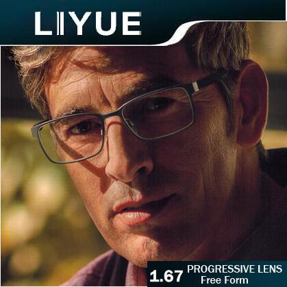 Objektiv Transparent Index Linie 1 Klar Multifocal Zweistärkengläsern Ohne 67 Liyue Gleitsichtgläser Freeform 78wqpq
