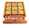 Wooden Sudoku Puzzles Board Game Logical Thinking Intellectual Toys