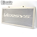 BJGLOBAL For Kawasaki VERSYS 650 2015 2016 Motorbike Engine Radiator Grille Guard Cover Protector Fuel Tank Cover Protector Net