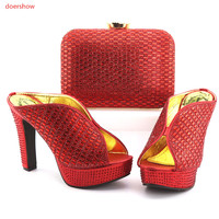 High Quality Women Shoes And Bags To Match African Shoes And Bag Sets Italian Shoes Matching