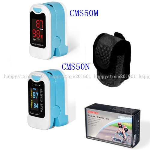 Home Care Health CMS50M/CMS50NA Finger Tip Pulse Oximeter Blood Oxygen SPO2 PR Monitor CONTEC