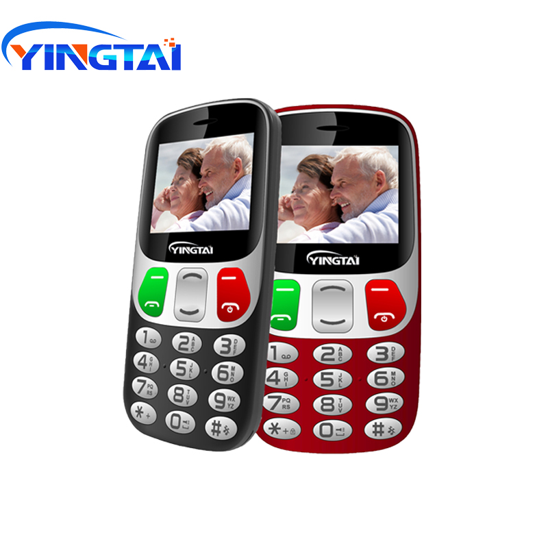 New model Old Man 2G GSM Mobile Phone YINGTAI T47 Strong Torch Senior Cellphone for Elderly Big SOS Large Button Key Big speaker|Cellphones| |  - title=