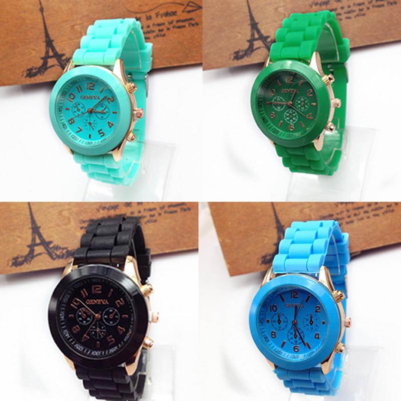 Reloj Mujer 2018 Hot Sale Sports Brand Quartz Watch Men Ad Casual Silicone Women's Wristwatch Relogio Feminino Fashion Clock