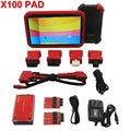 100% Original XTOOL X100 Auto Programador Chave X-100 PAD com adaptador EEPROM Apoio resto de óleo & Ferramenta de Ajuste Odômetro