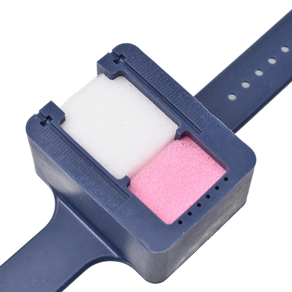 Canal da Raiz do Arquivo Limpeza Escala Relógio W/esponja Azul