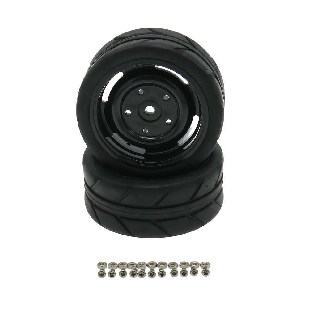 RCAWD Velg Band/tire Set 4 stks/set 1:10 On Road 63mm Speelgoed Model Auto C20655 C20659 Band set Model Onderdelen