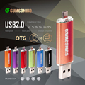 SUMSONIKO Phone USB Flash Drive Custom Gift Pen Drive High Speed USB 2.0 Flash Memory Stick Free Shipping