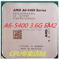 The new no box packaging processors for AMD A6-5400K FM2 dual-core 3.6G APU integrated graphics desktop CPU