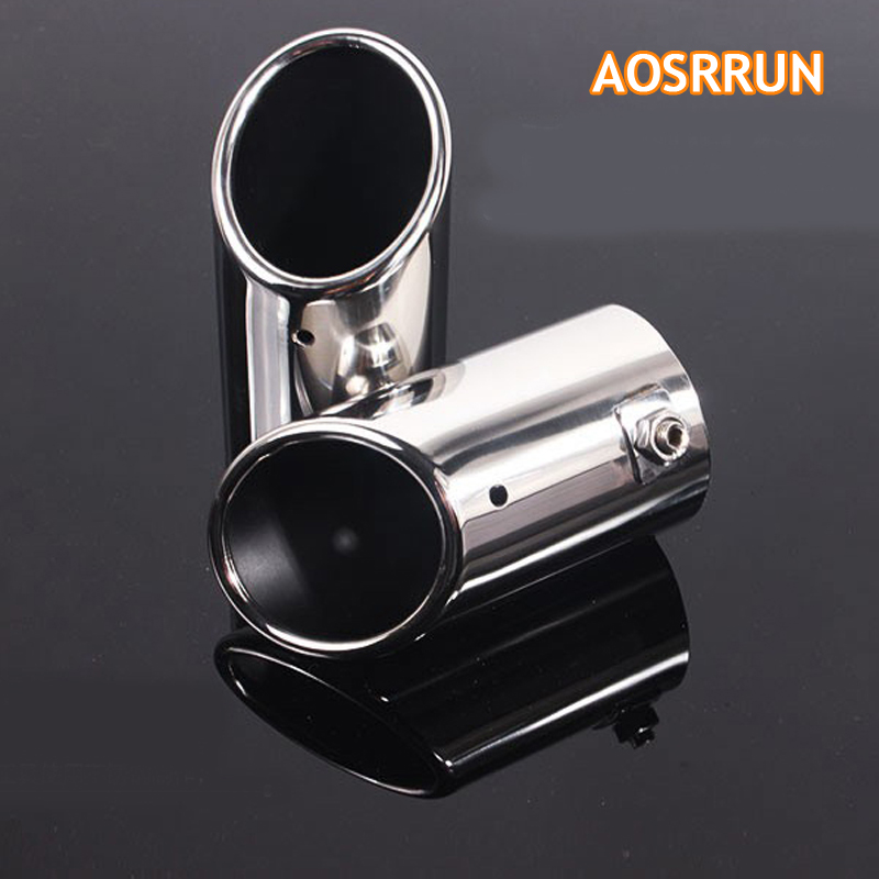 AOSRRUN Exhause tailpipe Exhaust pipe Car Accessories For 2009 2015 Skoda Octavia A5 A7 1 4T