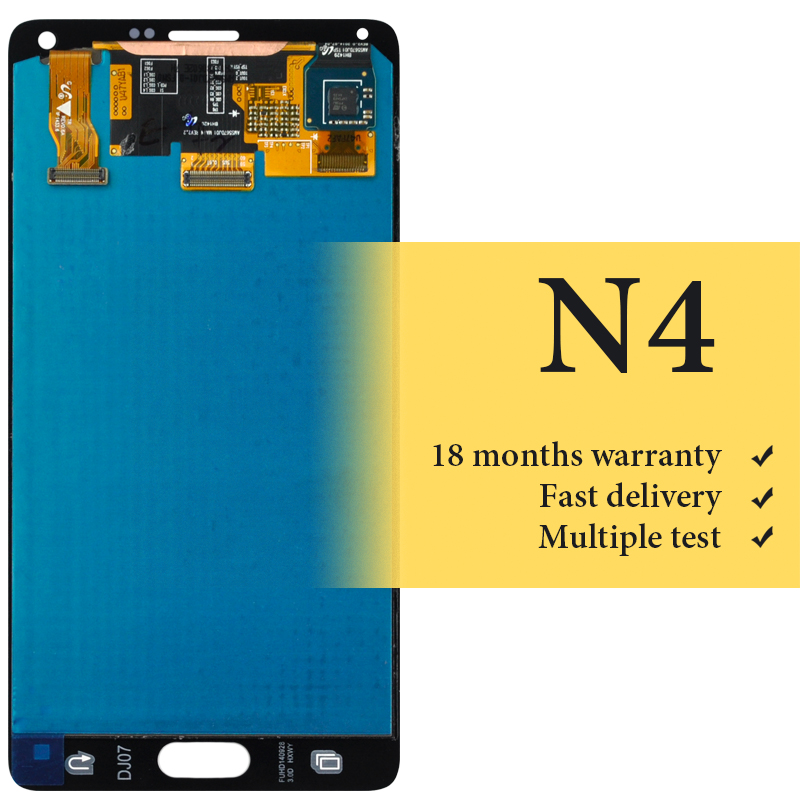 OEM good quality for mobile phone N9100 screen For Samsung Note 4 lcd display 100% tested replacement lcd screen assamblyOEM good quality for mobile phone N9100 screen For Samsung Note 4 lcd display 100% tested replacement lcd screen assambly
