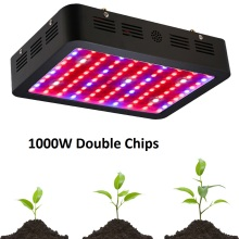 BOSSLED 1000W 1500W 1200W 800W Double Chips LED Grow Light Full Spectrum LED Grow Lights For Indoor Plants Flowering And Growing