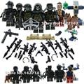 WW2 армии военные fgures строительный блок с хронологических и оружие для детей подарочные игрушки
