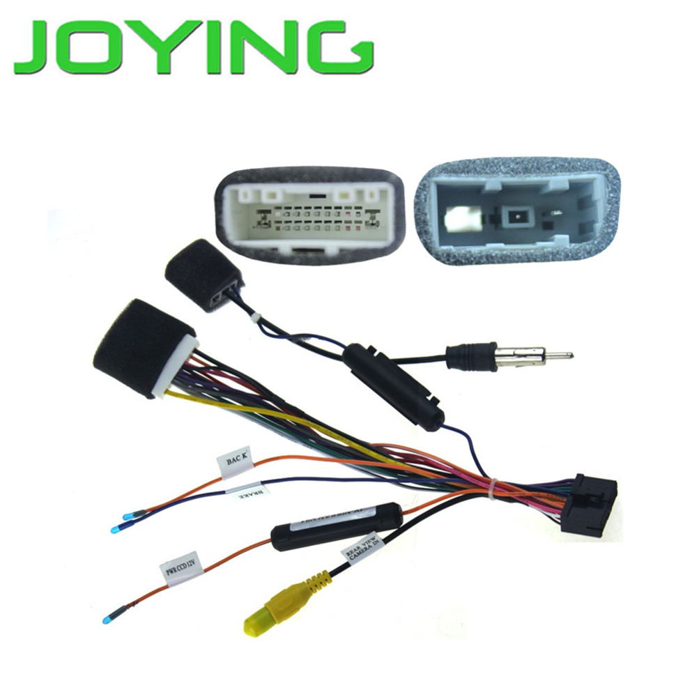 joying car radio install dash stereo wire harness plug cable for rh aliexpress com wiring harness [ 1000 x 1000 Pixel ]