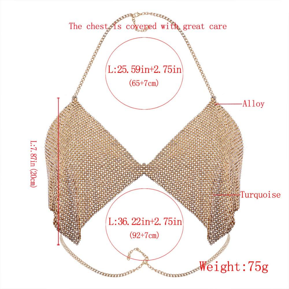 HTB1e3V9RVXXXXXDXVXXq6xXFXXXS Contouring Crystal Beaded Bikini Bra Chain for Event Party and Functions Women Boho Bra Body Chains