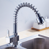 Fast Single Sprinkler Easy To Use Hot Cold Water Home Water Economizer Kitchen Faucet Brass Durable Bathroom Mixer Tap