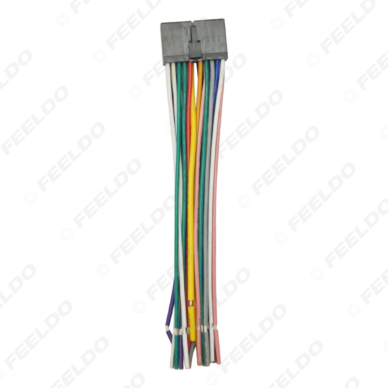 Super Feeldo 20Pin Universal Aftermarket Car Head Unit Dvd Stereo Radio Wiring Cloud Hisonuggs Outletorg