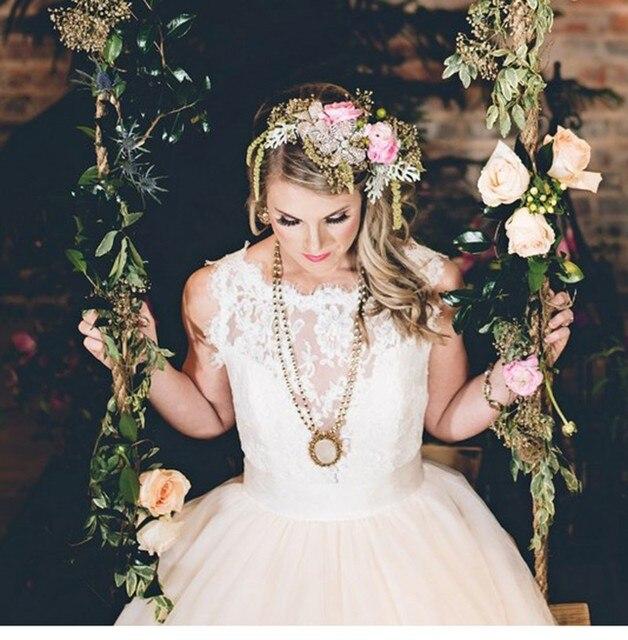 2016 New Long Trail White Enchanted Fairytale Bridal Wedding Dresses ...