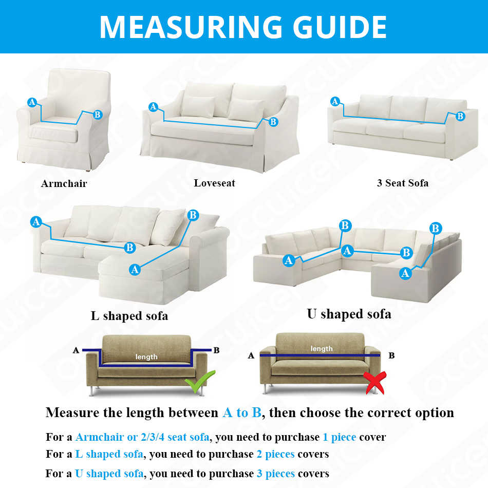 Modern Jacquard Sofa Covers for Living Room Armchair Sectional Couch Covers Elastic Stretch Slipcovers Sofa Tight Wrap
