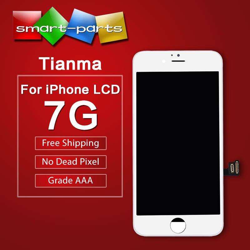 imágenes para Grado AAA Tianma pantalla de alta para el iphone 7 pantalla LCD Reemplazo de la pantalla 4.7 Pantalla con Buena 3D Táctil Digitalizador envío nave