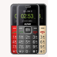MAFAM Unlocked LED Flashlight Big Keyboard Speakers Mobile Phone FM Radio Dual Sim 1.8 inch Metal Body Old Man Cellphone P442
