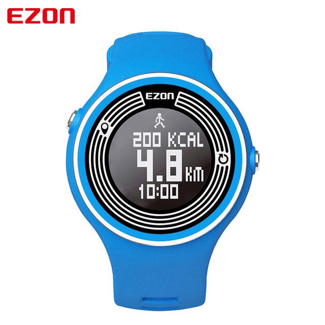 EZON S1 Inteligente Podómetro Bluetooth Hombres Mujeres Unisex Relojes Deportivos Reloj Digital de Conteo de Calorías Corriendo Reloj para Android IOS