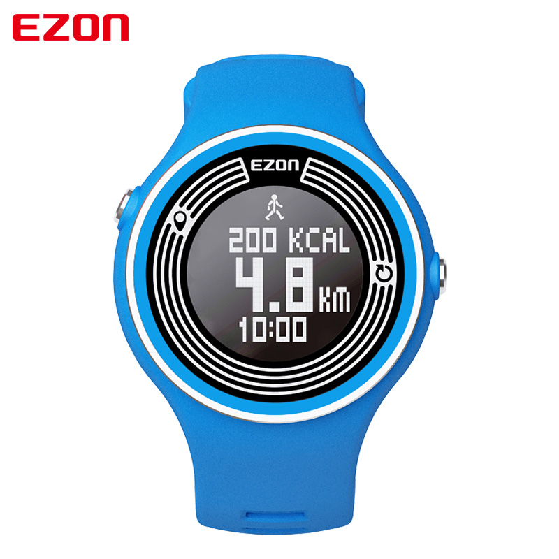 EZON S1 Pedometer Smart Bluetooth Men Women Unisex Sport Watches Calories Count Digital Watch Running Wristwatch for Android IOS