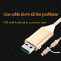 Phone data cable WSKEN OTG adapter usb cable usb charging converter date cable line charging cables for iPhone 6 6s plus Android