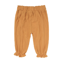 2017 summer solid color linen pleated children knee-length pants for boys girls trousers wide trousers for children CT003