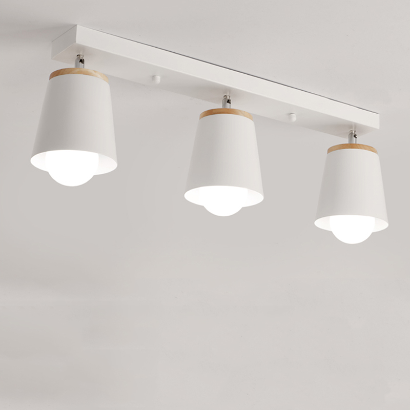 Simple And Modern Ceiling Lamp Adjustment Direction Creative LED Bedroom Lights Corridor Office Study Personality Nordic Light