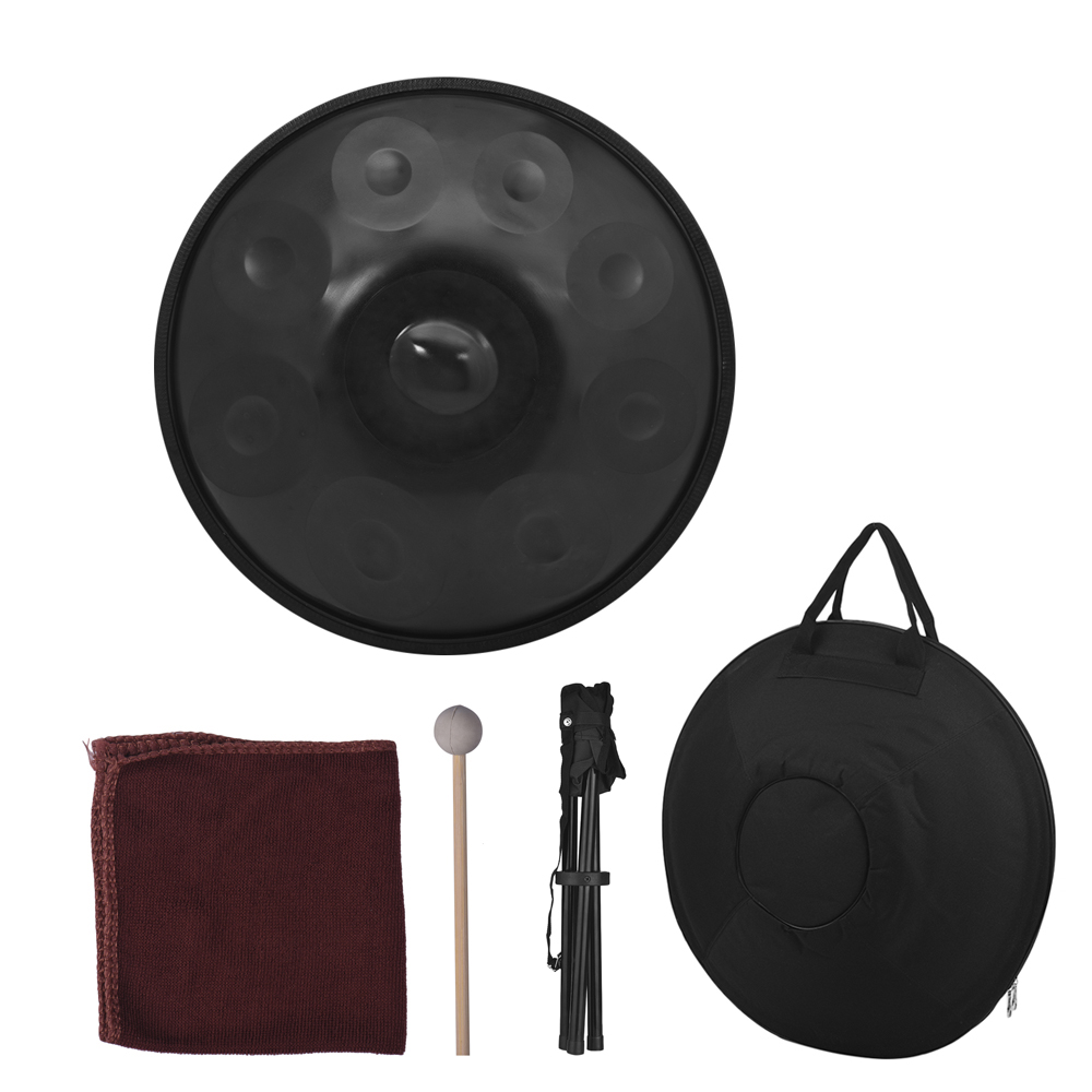 9 notes hand pan handpan hand drum carbon steel material professional percussion instrument with. Black Bedroom Furniture Sets. Home Design Ideas