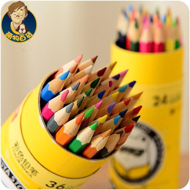 12/18/24/36 Colors Secret Garden Coloring Colored Pencil Set School ...