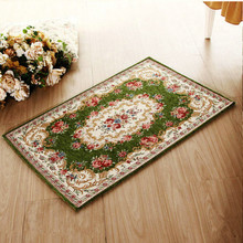 European style Home textile carpet sitting room tea table bedroom bed mat floor