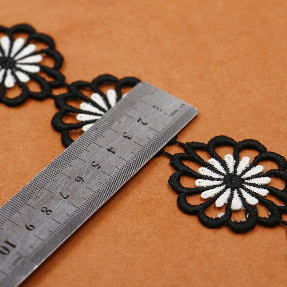 4.6cm πλάτος λουλούδι δαντέλα - Τέχνες, βιοτεχνίες και ράψιμο - Φωτογραφία 4
