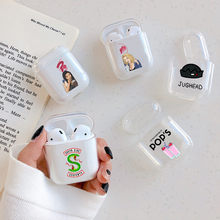 American TV Riverdale Serpents Earphone Case For AirPods Protective Cover Transparent Hard Case for Apple Airpods Charging Bags(China)