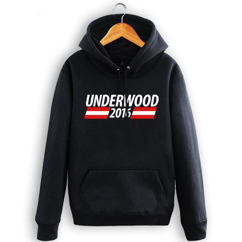 2017 new hoodie US drama card house HOUSE OF CARDS hoodies fashion men and women cotton fleece sweatshirts men