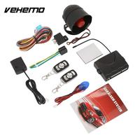 Vehemo Remote Control Keyless Entry Car Electronics Security System Universal Automobile Burglar Alarm System Car Accessories