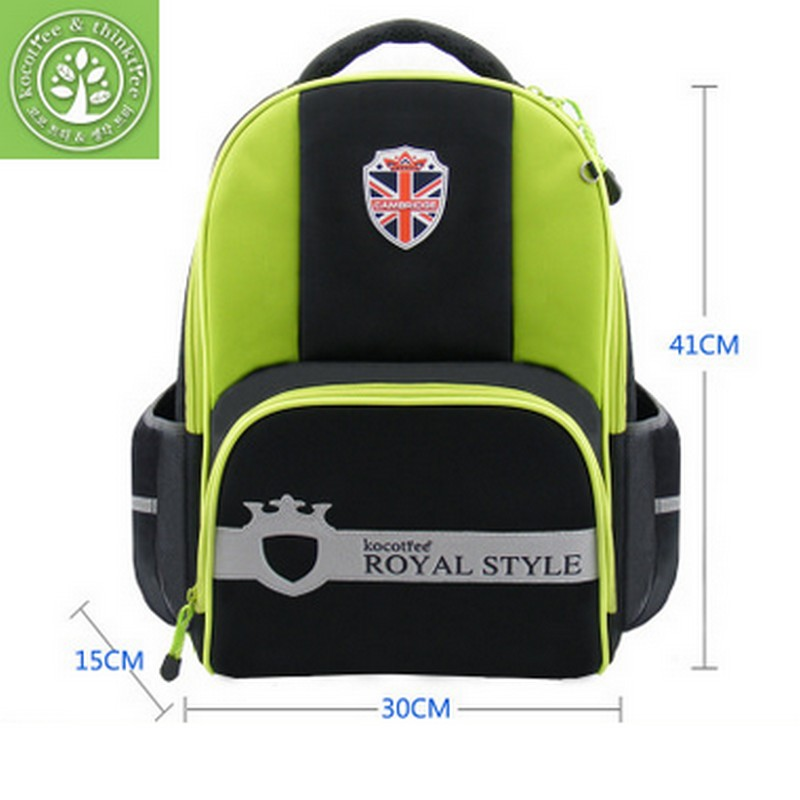 2017 Korean Brand KocoTree children student/books/orthopedic school bag backpack portfolio rucksack for boys girls for class 3-6  high end kocotree ergonomic elementary school bag books child children backpack portfolio for girls for class grade1 3 free ship