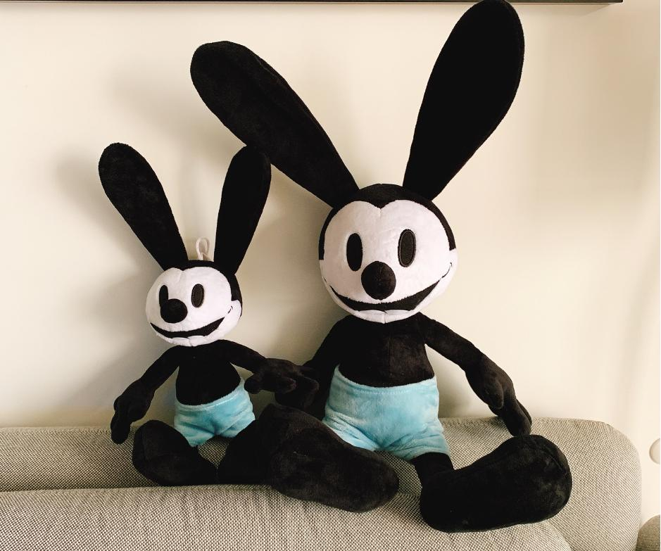 Oswald The Lucky Rabbit 25cm 38cm Plush Toy Stuffed Animal Dolls Kids Personalized Gift Christmas