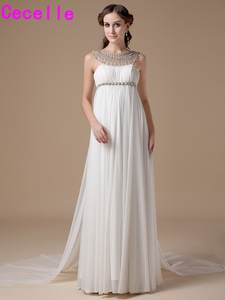Shop discount empire waist wedding dress