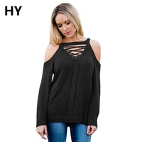 New Pullovers Turtleneck Long Sleeve Virgin Killer Sweater Japanes Knitted Sexy backless Women Sweaters LC27672