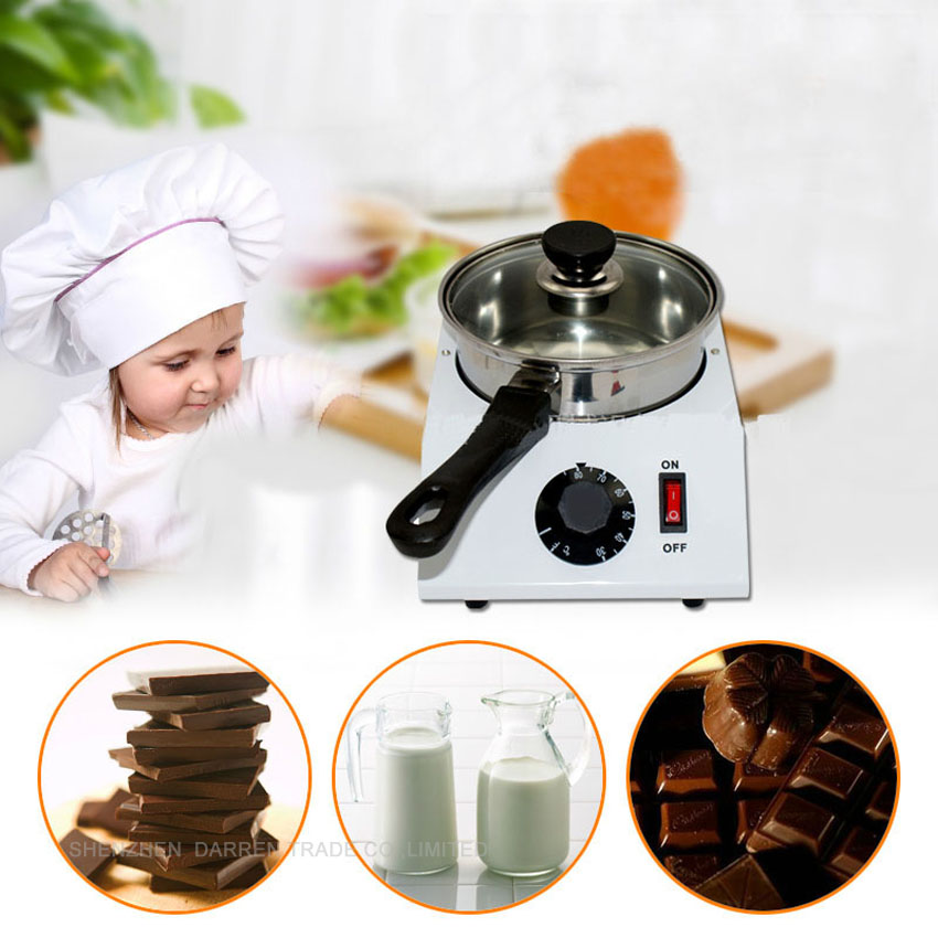 1PC Electric chocolate tempering machine for sale;chocolate melter stove;chocolate melting machine hot selling household small chocolate melting coating tempering machine
