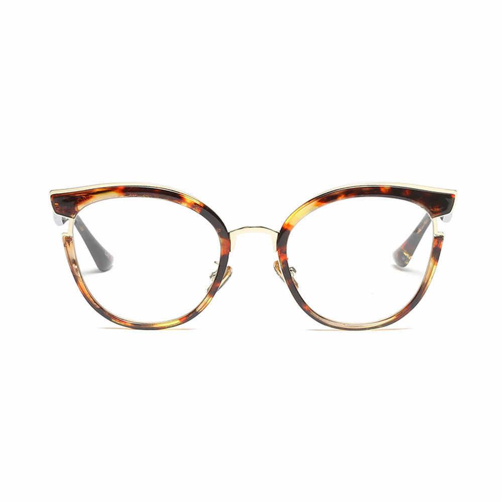 Женская оправа для очков MINCL, леопардовая оправа для очков с квадратным леопардовым принтом, прозрачные линзы NX, 2019