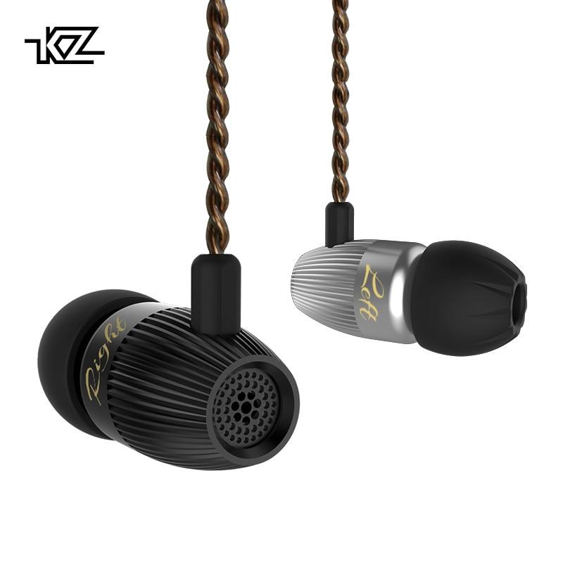 KZ ED15 In Trasduttore Auricolare Dell'orecchio Dinamico E Armature Cuffie con Microfono Dual Driver Dei Bassi Auricolari Stereo HiFi In Ear Monitor