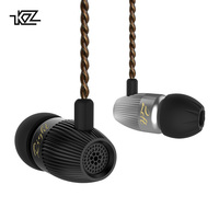 KZ ED15 In Ear Earphone Dynamic And Armature Headphones With Microphone Dual Driver Bass Stereo Earbuds