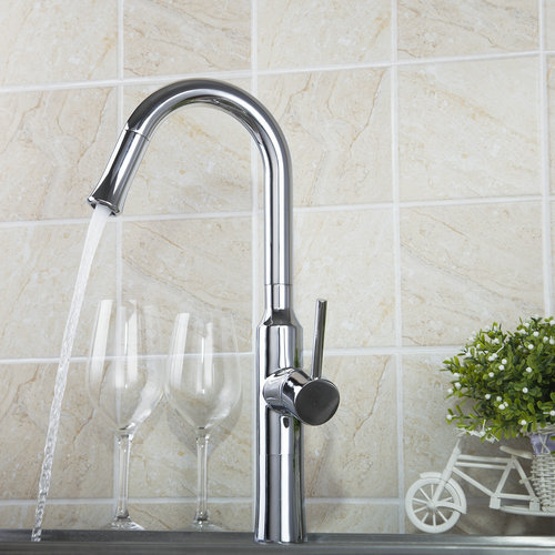 Kitchen Torneira 97054 Solid Brass Kitchen Sink Faucet Deck Mount Spray Swivel Spout Bathroom