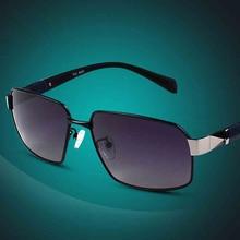 2015 nueva marca para hombre del diseñador gafas de sol moda gradiente polarizadas para hombres gafas de sol oculos Masculino gafas 6660