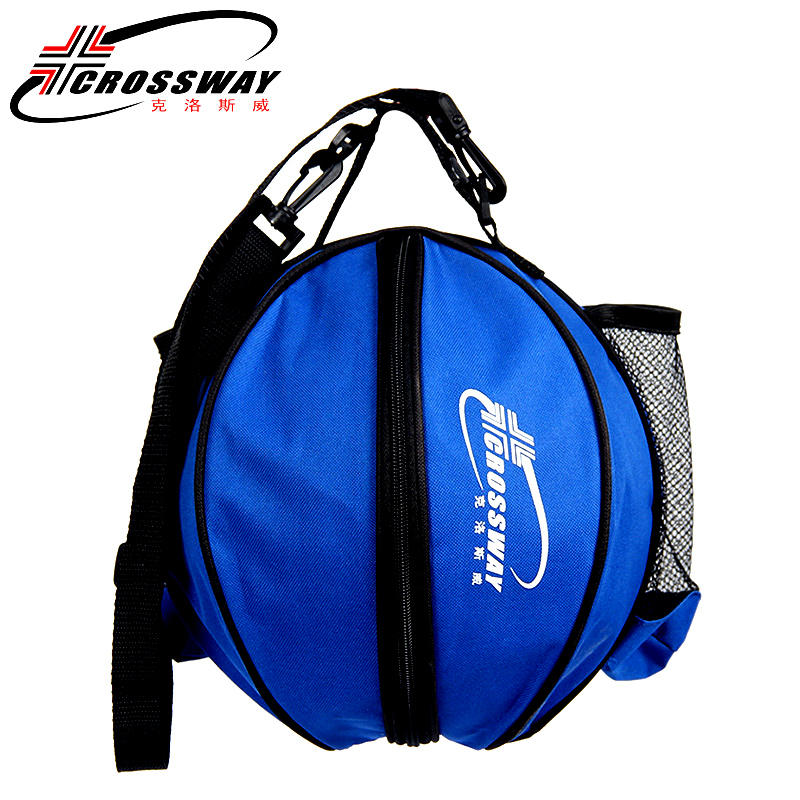 Универсальная спортивная сумка для баскетбола, рюкзак для волейбола, регулируемый плечевой ремень круглой формы, для хранения-2